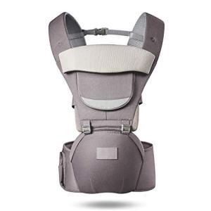 抱っこひも、MAVEEK ベビーキャリア ヒップシート ベビー 抱っこひも 赤ちゃん おんぶ紐 O脚防ぐ 分離可能 多機 ybd