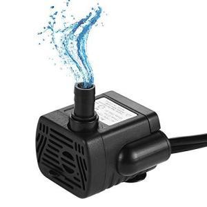 LEDGLE 水中ポンプ 小型ポンプ ミニ 排水ポンプ 池ポンプ 水槽 循環ポンプ 潜水ポンプ 静音 揚程50cm 吐出量200L/H|ybd