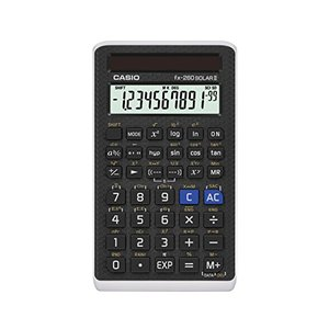 CASIO(カシオ) 関数電卓 fx-260 SOLAR II(ブラック) [並行輸入品]|ybd