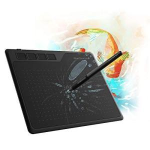 GAOMON S620 6.5x4インチペンタブ8192レベル筆圧4ショートカットキーや電源不要なペンを搭載した板タブ-イラ ybd