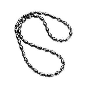 WOOSA ヘマタイト テラヘルツ 磁気 メンズ レディース ネックレス 磁気純度99.999%鑑定済み アクセサリー プレゼ|ybd
