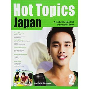 Hot Topics Japan 2 Student's Book And MP3 CD|ybd