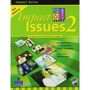 Impact Issues (2E) Level 2 Student Book with CD|ybd