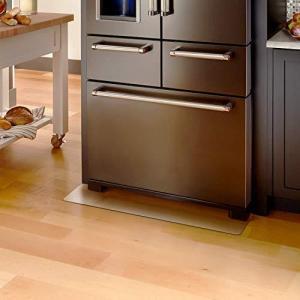 Kitdine 冷蔵庫 マット キズ防止 凹み防止 床保護シート5362cm 〜200Lクラス 無色 透明 国内正規一年保証 (Sサイズ)|ybd