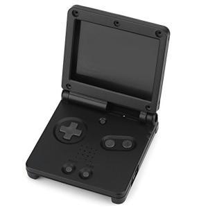 Fosa ゲームボーイアドバンスGBA SP保護ABSコンフォートグリップケースカバー修理部品キット(ブラック) ybd