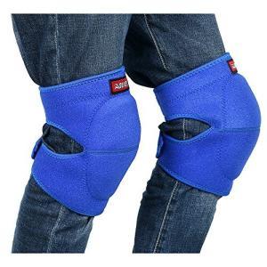 【Ludus Felix】ひざ当てパッド ひざサポーター 膝当て ひざパッド ヒザプロテクター ひざパット 作業用 両膝セッ|ybd