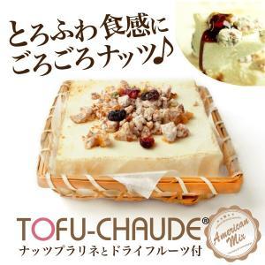 【送料無料】 ごろふわトーフチャウデナッツのプラリネとドライフルーツ付き 豆腐 アイス 洋菓子 和菓子 お菓子  ギフト 誕生日|ycerise