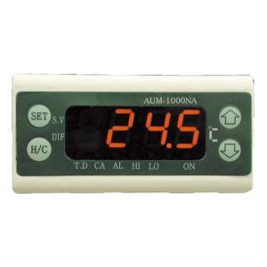 AUM-1000NA-1 パネルマウント温度コントローラ マザーツール 【送料無料】  【破格値】リレー2ヵ所搭載|ydirect