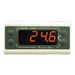 AUM-140-1 パネルマウント温度計 マザーツール 【送料無料】 【破格値】 応答の速いサーミスタセンサ使用|ydirect