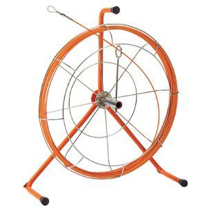 JF-4030RS ケーブル索引具 ジョイント釣り名人Jr.(リールタイプ) 30m ロッド+フレーム JEFCOM/DENSAN ジェフコム/デンサ|ydirect