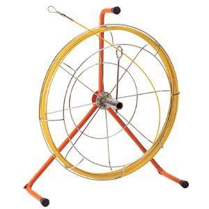 JF-4315RS ケーブル索引具 ジョイント釣り名人スリム(リールタイプ) 15m ロッド+フレーム JEFCOM/DENSAN ジェフコム/デンサ|ydirect