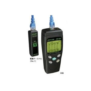 LEC-401 LANケーブルチェッカー  JEFCOM/DENSAN ジェフコム/デンサン 【送料無料】|ydirect