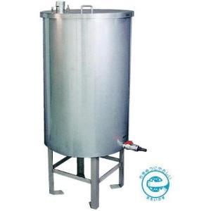 AB200L カネソウ(KANESO) 雨ボトル ステンレス製 雨水貯水タンク (鍵付タイプ)|ydirect