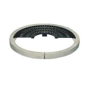 BR-1200 カネソウ(KANESO) 丸型用 コンクリートブロック ガーデングレート|ydirect