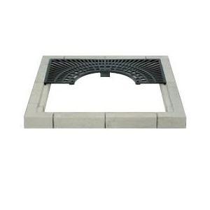BS-1000 カネソウ(KANESO) 角型用 コンクリートブロック ガーデングレート|ydirect