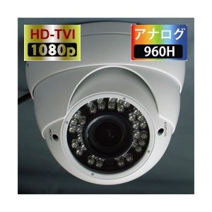 ITC-JK501 アイ・ティー・エス(ITS) 220万画素防雨型赤外ドームカメラ TVI CVI AHD アナログ出力対応 45712759466|ydirect