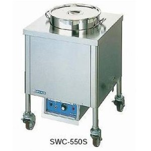 SWC-500S 電気スープウォーマーカート[角型] ニチワ(nichiwa) 【送料無料】|ydirect