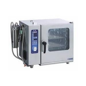 ASCO-5230RL-L(R) ニチワ電機 電気スチームコンベクションオーブン(インジェクションタイプ) 2/3ホテルパン 5段|ydirect