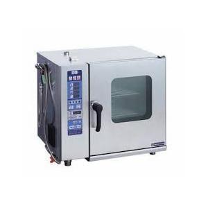 ASCO-55230RL-L(R) ニチワ電機 電気スチームコンベクションオーブン(インジェクションタイプ) 2段積み 2/3ホテルパン 5段×2|ydirect