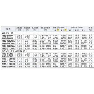 PRS-150NS アルインコ 兼用脚立 ワイドステップ(55mm)  4969182239782|ydirect