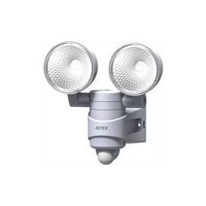 4954849503146 LED-AC314 ムサシ 7Wx2灯LEDセンサーライト ACタイプ  ムサシ 限定セール|ydirect