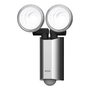 4954849525209 LED-AC2520 ムサシ 多機能型 10WX2LED センサーライト  ムサシ|ydirect
