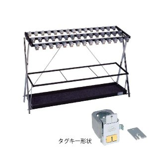 231-0040 鍵付折り畳み式傘立てX   ミヅシマ工業(MIZUSHIMA) 【送料無料】 ydirect