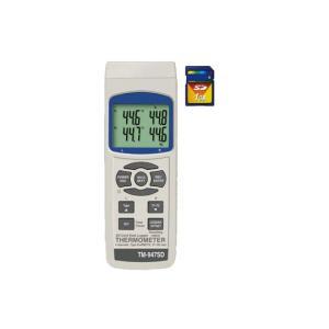 TM-947SD SDカードデータロガデジタル4ch温度計 マザーツール 【送料無料】 【破格値】PCに取り込むだけでデータ編集が可能|ydirect