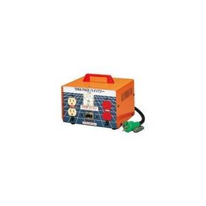 M-EK20 昇圧専用トランス 屋内型 安全型<連続定格>アース付・過負荷漏電しゃ断器付 日動工業 【送料無料】【破格値】|ydirect