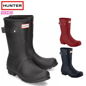 HUNTER ハンター レインブーツ 長靴 ブーツ レディース 完全防水 雨 WOMENS ORIGINAL SHORT BOOT WFS1000RMA (hnt001)|yellow