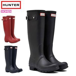 HUNTER ハンター レインブーツ 長靴 ブーツ レディース 完全防水 雨 WOMENS ORIG...