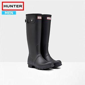 HUNTER ハンター レインブーツ 長靴 ブーツ メンズ 完全防水 雨 MENS ORIGINAL TALL MFT9000RMA (hnt007)|yellow