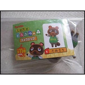 チョコエッグ とびだせどうぶつの森 04 たぬきち(単品)
