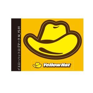 イエローハットオリジナルステッカー イエローハットロゴマークM YS−91|yellowhat