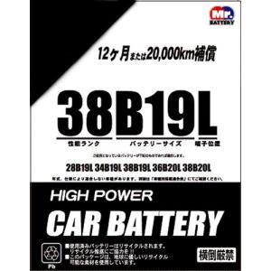 お買い得バッテリー 38B19L|yellowhat