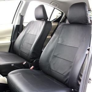 トヨタ アクア(10系)専用のレザー調シートカバーです。 通気性の良いパンチングレザーを使用していま...