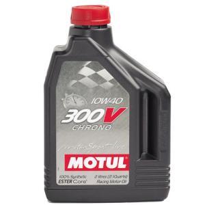 MOTUL(モチュール) 300V CHRONO(クロノ) 10W-40 2L 化学合成オイル [正規品]