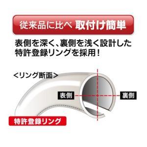 ボンフォーム ハンドルカバー ツーリングSサイズ シルバー 6881-01|yellowhat|03