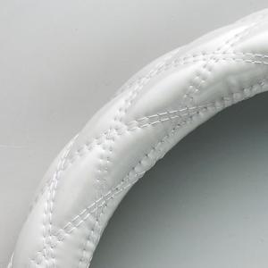 ボンフォーム シャイニーキルト ハンドルカバー Sサイズ 6910-01 ホワイト|yellowhat|02