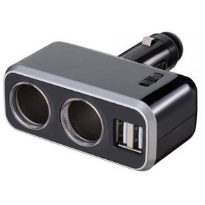 ナポレックス イルミソケットD2 USB 4.8A Fizz-991 yellowhat