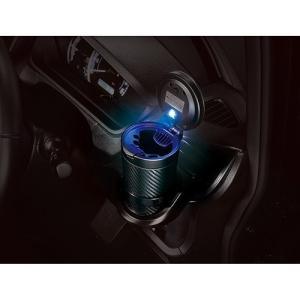 カーメイト 灰皿 Sports Luxury カーボン調ブラック DZ287|yellowhat|02