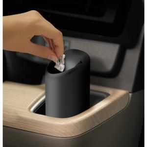 カーメイト シリコンゴミ箱 スマートボトル ブラック DZ379|yellowhat|02