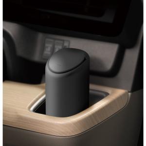 カーメイト シリコンゴミ箱 スマートボトル ブラック DZ379|yellowhat|03