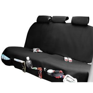 錦産業 シートカバーアクアポケット(収納ポケット付きシリーズ) ブラック WE-75|yellowhat
