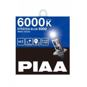 PIAA ストラトスブルー 6000K H1 HZ505ハロゲンバルブ|yellowhat