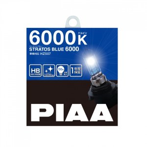 PIAA ストラトスブルー 6000K HB HZ507ハロゲンバルブ|yellowhat