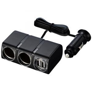 星光産業 USBツインソケット EM-139|yellowhat|02