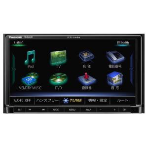 パナソニック ストラーダ 7V型ワイドVGAモニター 地上デジタルTV/DVD/CD内蔵 SDカーナビ CN-RA03D (180mmコンソール用)