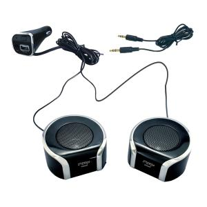 槌屋ヤック Bluetooth ツインセパレートクリアサウンドスピーカー TP-200|yellowhat