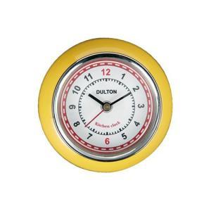 KITCHEN CLOCK YEL|yellowhat